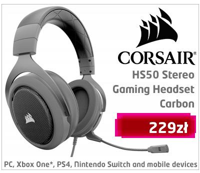 Słuchawki Corsair HS50