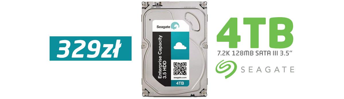 Seagate 4TB SATA