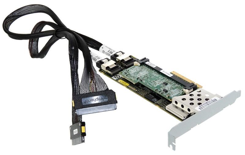 Ports 2 Int P410 512MB PCIe x8 SAS Controller Card HP Smart Array 462919-001
