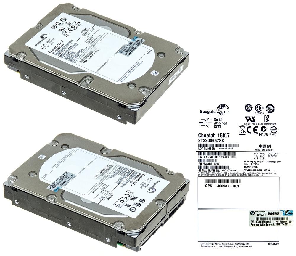 "Hard Drive 375872-B21 376595-001 150K sas 146GB 3.5/"""
