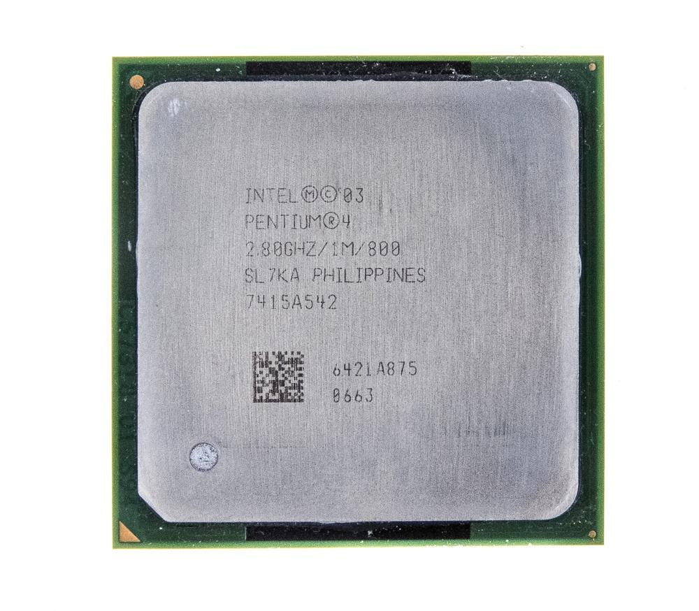 SL7DS Intel Mobile Pentium 4 518 2.8GHz 1MB 533FSB socket 478 CPU