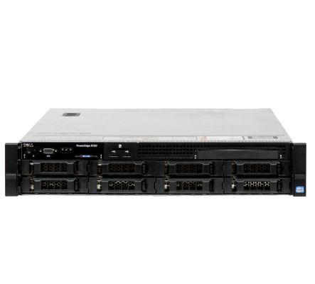 Dell PowerEdge R720 2xE5-2620 64GB DDR3 H710 mini iDRAC7 8xLFF 2xPSU