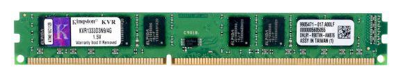 KINGSTON KVR1333D3N9/4G 4GB DDR3-1333MHz LOW PROFILE