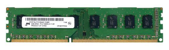 MICRON 4GB DDR3 PC3-10600 1333MHZ N0N-ECC MT16JTF51264AZ-1G4M1