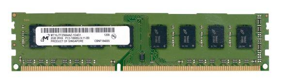 MICRON 2GB DDR3 PC3-10600 1333MHZ NON-ECC MT16JTF25664AZ-1G4G1