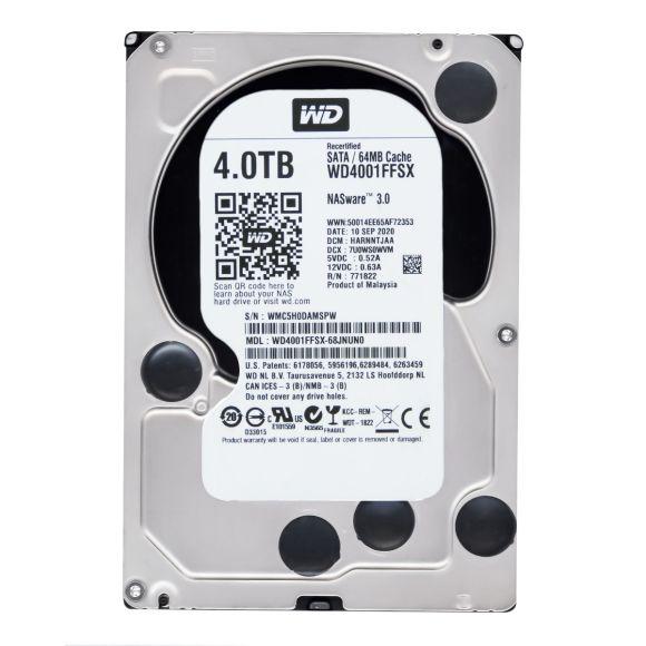 WD RED PRO 4TB 7.2K 64MB SATA III 3.5'' WD4001FFSX NASWARE 3.0