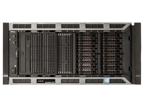 Dell PowerEdge T620 RACK 1x Xeon E5-2609 16GB H710 iDRAC7 16xSFF 0GB 2x 750W