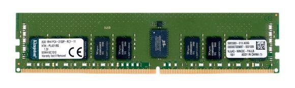 KINGSTON KTH-PL421/8G 8GB DDR4-2133MHz ECC