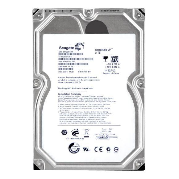 Seagate ST32000542AS 2TB 32MB SATA 300 NCQ