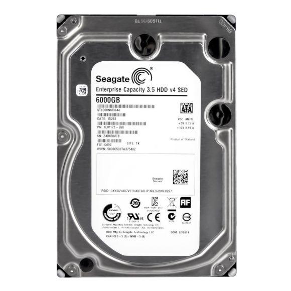 SEAGATE HDD v4 SED 6TB 7.2K 128MB SATA III 3.5'' ST6000NM0044