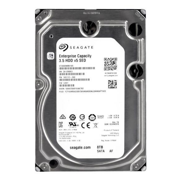 SEAGATE HDD v5 SED 8TB 7.2K 256MB SATA III 3.5'' ST8000NM0105