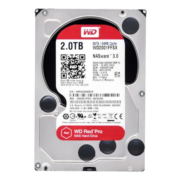 WD RED PRO 2TB 7.2K 64MB SATA III 3.5'' WD2001FFSX NASware 3.0