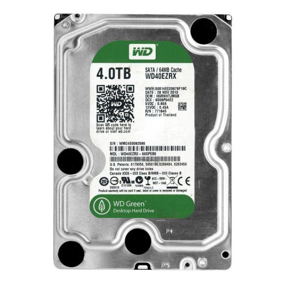 WD GREEN 4TB 5.4K 64MB SATA III 3.5'' WD40EZRX