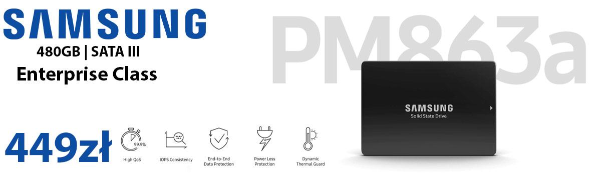 Samsung 480GB SSD PM863a