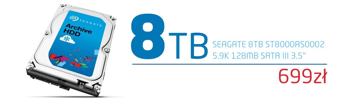 Seagate 8TB SATA Archive