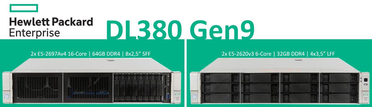 HP Serwer Gen9