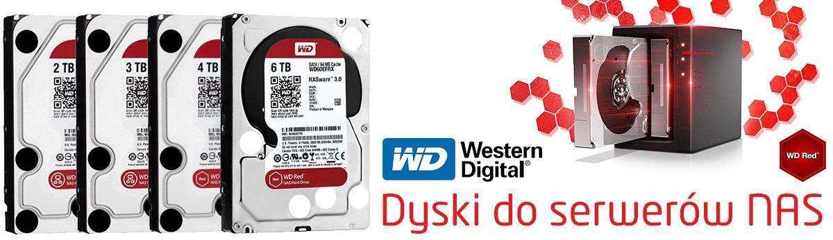 Dyski do serwerów NAS - WD RED